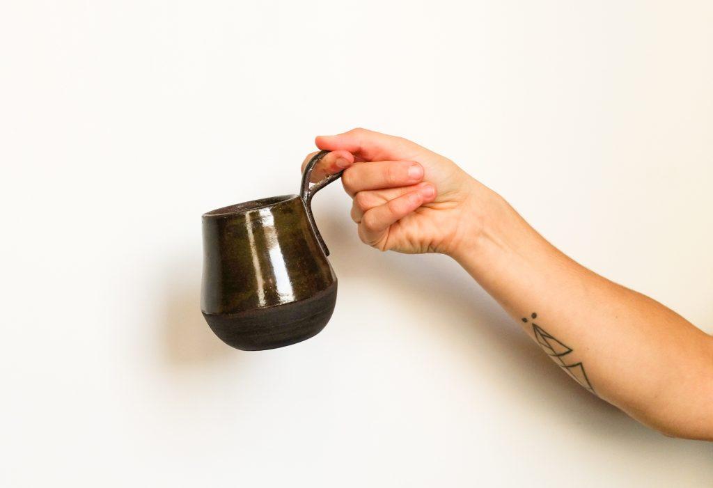 Tasse Monodoigt noire